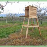 Large, attractive home for orchard mason bees